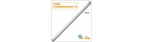 TUBOS T4 y T5 FLUORESCENTES