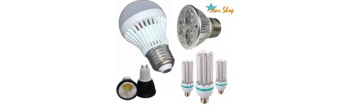 LED: AMPOLLETAS 220V