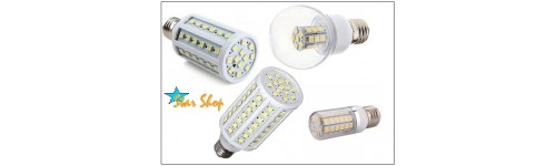 AMPOLLETAS LED CHOCLO VARIOS FORMATOS