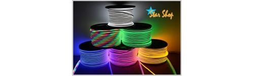 SISTEMA CINTA  LED-NEÓN FLEX 220V