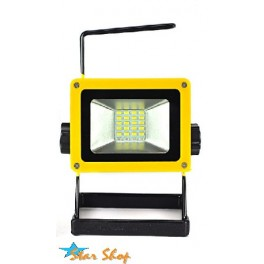PROYECTOR LED SMD 10W RECARGABLE EMERGENCIA