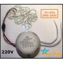 DRIVER CON 36 LED SMD 2850