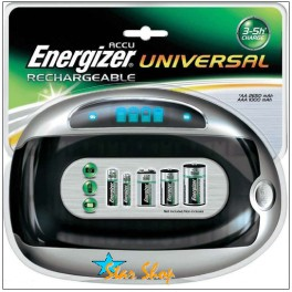 CARGADOR UNIVERSAL AUTOMÁTICO ENERGIZER