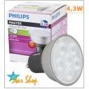 Ampolleta Led 4,3W Base GU10 Philips, Dimmeable