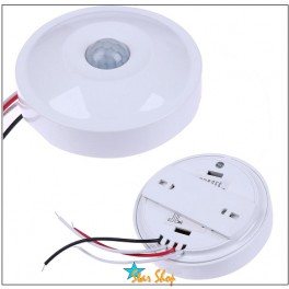 SENSOR 360° DETECTOR MOVIMIENTO PIR SWITCH