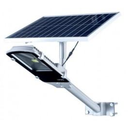 LAMPARA LED COB 18W PANEL SOLAR, KIT COMPLETO