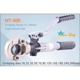 APRIETA TERMINALES HIDRÁULICO HT-300,  16 - 300mm2