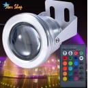 FOCO PISCINA LED RGB 12V, C/CONTROL REMOTO