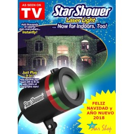 LASER STAR SHOWER CASA FIESTAS