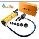 SYK-8A  KNOCK-OUT PUNZADOR HIDRAULICO SYK-8A, Φ22 a Φ60mm