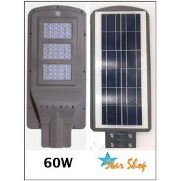 LÁMPARA SOLAR LED ALL-IN-ONE 60W AUTÓNOMA