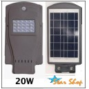 LÁMPARA SOLAR-LED ALL-IN-ONE 20W INTEGRADA AUTÓNOMA