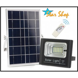 PROYECTOR SOLAR LED 10W CONTROL REMOTO