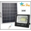 PROYECTOR SOLAR LED 60W CONTROL REMOTO
