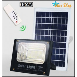PROYECTOR SOLAR LED 100W CONTROL REMOTO