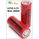PILA RECARGABLE 26650 Li-ion 3,7V