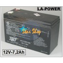 BATERÍA RECARGABLE LA-POWER 12VDC-7,2Ah