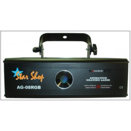 EQUIPO DMX LASER STAGE AR-08RGB