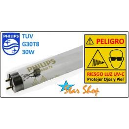 TUBO GERMICIDA 30W PHILIPS G30T8