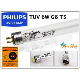 TUBO GERMICIDA UV-C 6W PHILIPS TUV G8 T5