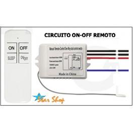 CONTROL REMOTO SWITCH ILUMINACIÓN 1 CIRCUITO