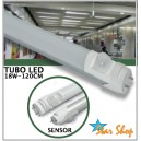 TUBO LED CON SENSOR DE MOVIMIENTO PIR