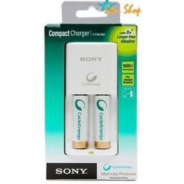 Cargador Sony BCG-34HW2KN con 2 PilA Ni-Mh 2100mAh Pre-Cargadas