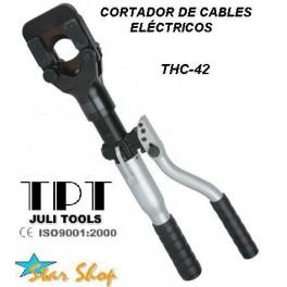 CORTADOR DE CABLES ELÉCTRICO DE FUERZA HASTA 42mm2
