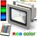 PROYECTOR  RGB COLOR 10W c/CONTROL REMOTO, EFECTOS