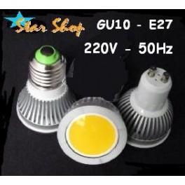 AMPOLLETA 5W LED COB EPISTAR DICROICA, 220V