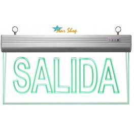 SALIDA LED EMERGENCIA PERMANENTE 220VAC