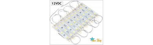 MATRICES, MÓDULOS y PLACAS LED 12VDC