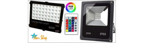 LED COLOR: PROYECTORES RGB