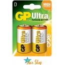 BLISTER 2 PILAS MEDIANAS C, GP ULTRA ALCALINAS