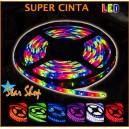 CINTA LED RGB c/CONTROL REMOTO, 5 METROS