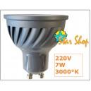 AMPOLLETA 12 LEDs SMDX 7W Base GU10