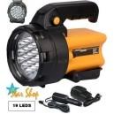 Linterna 220V Foco Recargable - 19 Leds Alta Potencia Lumínica P