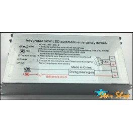 KIT 50W LED DE EMERGENCIA PANEL CIELO AMERICANO LED