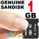 MEMORY 1GB Micro M2 SANDISK® CARD SONY ERICSSON