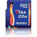 MEMORY Mini SD 2Gb 52x MICRODIA