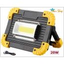 PROYECTOR LED CHIP RECTANGULAR 20W LL-811