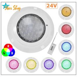 FOCO LED RGB 12W PISCINA CON CONTROL REMOTO RF
