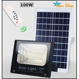 PROYECTOR SOLAR LED 100W CONTROL REMOTO