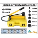 KNOCK-OUT PUNZADOR HIDRAULICO SYK-8B , Φ22 a Φ60mm