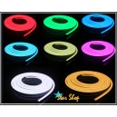 CINTA LED NEÓN FLEX COLOR FIJO MONOCROMÁTICO