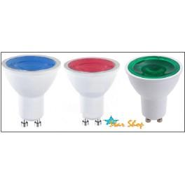 AMPOLLETA 5W LED GU10 COLOR AZUL