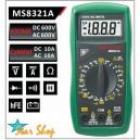 MULTITESTER DIGITAL MASTECH MS8321A