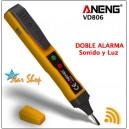 LÁPIZ DETECTOR DE VOLTAJE ANENG Mod. VD806
