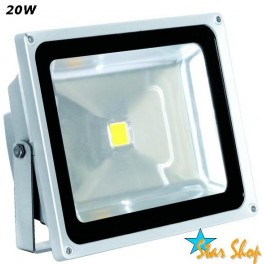 FOCO PROYECTOR LED 20W MULTICHIP HIGH-POWER EXTERIOR