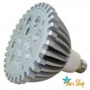 AMPOLLETA LED CREE 12 LEDS – 12W,  PAR 38